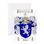 jones coat of arms Greeting Cards (Pk of 20)