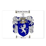 jones coat of arms Postcards (Package of 8)