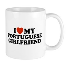 I Love My Portuguese Girlfriend  Mug