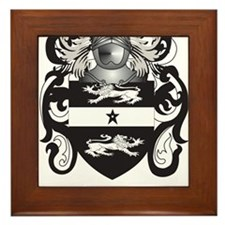 Clegg Coat of Arms Framed Tile