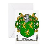 O'Horan Coat of Arms Greeting Cards (Pk of 20)