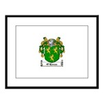O'Horan Coat of Arms Large Framed Print