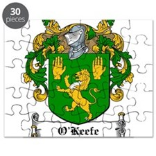 O'Keefe Coat of Arms Puzzle