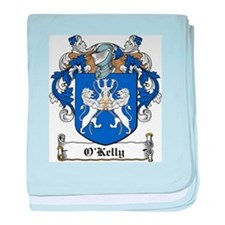 O'Kelly Coat of Arms baby blanket