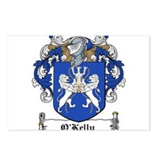O'Kelly Coat of Arms Postcards (Package of 8)