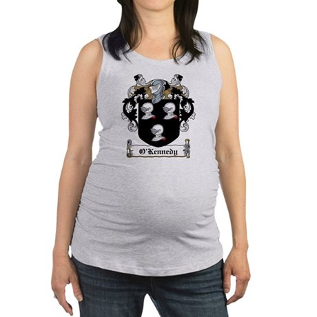 O'Kennedy Family Crest Maternity Tank Top