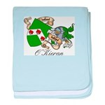 O'Kieran Famiy Crest baby blanket
