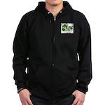 O'Kieran Famiy Crest Zip Hoodie (dark)