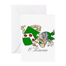 O'Kieran Famiy Crest Greeting Card