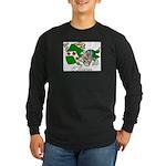 O'Kieran Famiy Crest Long Sleeve Dark T-Shirt