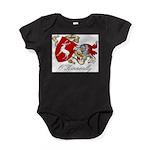 O'Kinneally Coat of Arms Baby Bodysuit