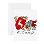 O'Kinneally Coat of Arms Greeting Cards (Pk of 20)