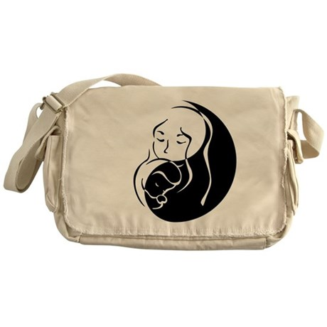 Zen Parent Messenger Bag