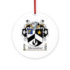 Alexander.jpg Ornament (Round)