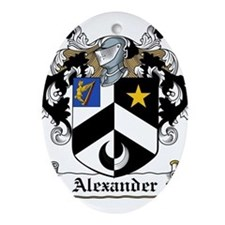 Alexander.jpg Ornament (Oval)