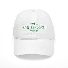 Saint Berdoodle thing Baseball Cap