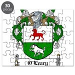 O'Leary Family Crest Puzzle