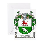 O'Leary Family Crest Greeting Cards (Pk of 20)