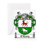 O'Leary Family Crest Greeting Card