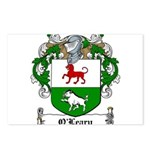 O'Leary Family Crest Postcards (Package of 8)
