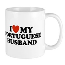 I Love My Portuguese Husband Mug