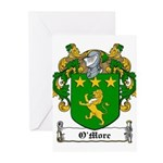 OMore (Moore-Leinster)-Irish-9.jpg Greeting Cards
