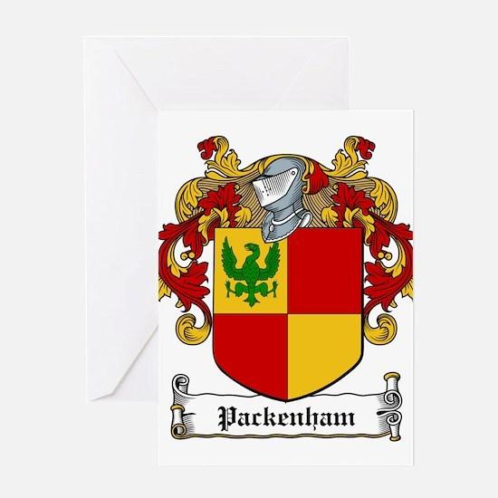 Packenham (Westmeath 1665)-Irish-9.jpg Greeting Ca