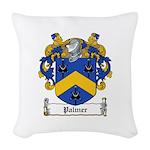 Palmer (Kings Co.jpg Woven Throw Pillow