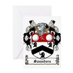 Saunders (Wexford)-Irish-9.jpg Greeting Card