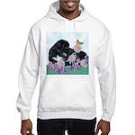 Newfoundland Puppy Hooded Sweatshirt