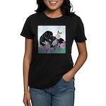 Newfoundland Puppy Women's Dark T-Shirt