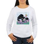 Newfoundland Puppy Women's Long Sleeve T-Shirt