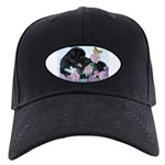 Newfoundland Puppy Black Cap