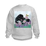 Newfoundland Puppy Kids Sweatshirt