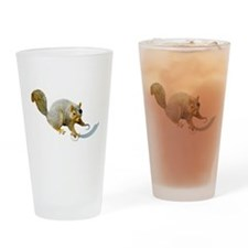 Pirate Squirrel Drinking Glass