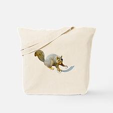 Pirate Squirrel Tote Bag