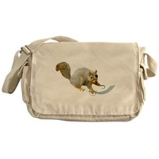 Pirate Squirrel Messenger Bag