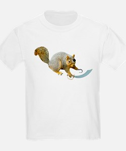 Pirate Squirrel T-Shirt
