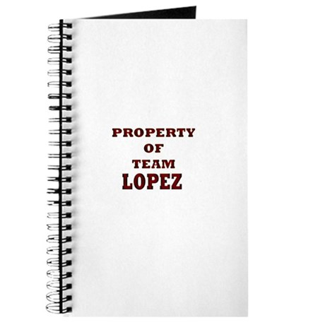 Property of team Lopez Journal
