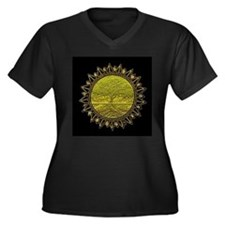 Sun Salutation Plus Size T-Shirt