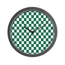 Leprechaun Checkerboard (Wall Clock)