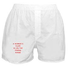firing range Boxer Shorts