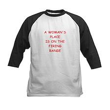 firing range Baseball Jersey