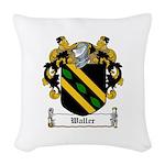 Waller (Limerick)-Irish-9.jpg Woven Throw Pillow
