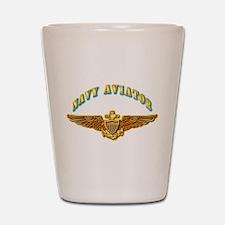 Navy - Navy Aviator Shot Glass
