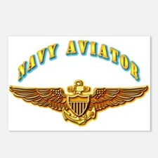 Navy - Navy Aviator Postcards (Package of 8)