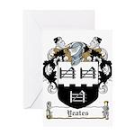 Yeates (Donegal 1675)-Irish-9.jpg Greeting Card