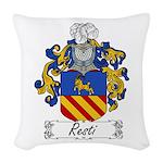 Resti_Italian.jpg Woven Throw Pillow