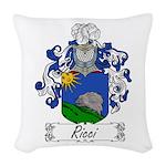 Ricci_Italian.jpg Woven Throw Pillow