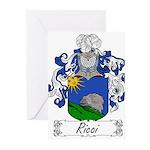 Ricci_Italian.jpg Greeting Cards (Pk of 20)
